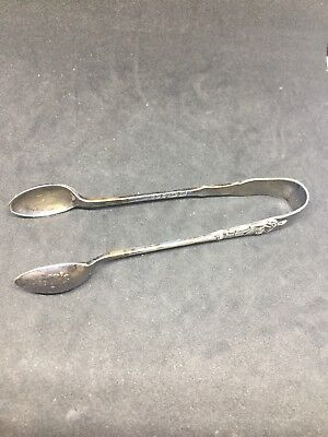 vintage sugar Nips/tongs SBS ARK EPNS