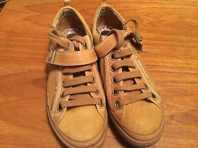 Timberland Earth Keepers Tan Suede And Leather Casual Shoes Size 5....