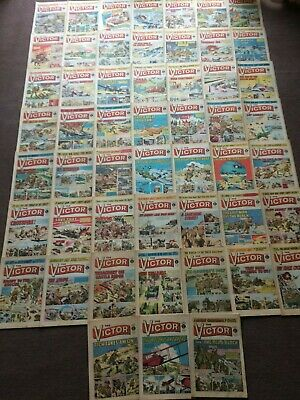 1971 VICTOR Comics x 52: Complete Year