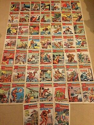1975 THE WIZARD Comics x 52 - Complete Year