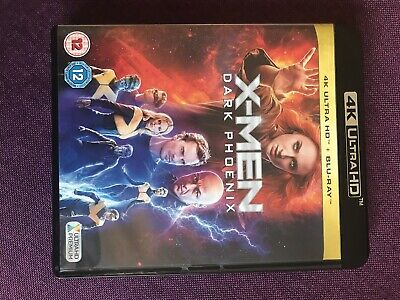 X-Men Dark Phoenix 4k Blu Ray X Men Only Plyed Once