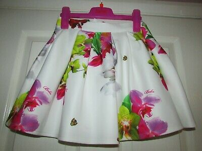 girls gorgeous ivory floral skirt from Ted Baker age 7yrs