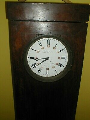 Rare French Railway? Regulator By Famous Dynasty Clockmakers Lepaute