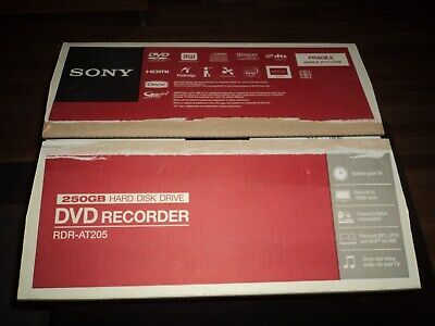 SONY DVD Recorder RDR-AT 205