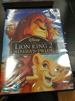 The Lion King 2 Simba's Pride DVD Brand new and sealed