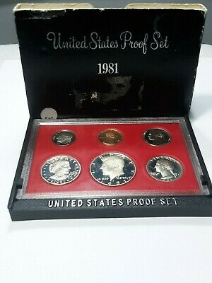 1981 United States Proof Coin Set
