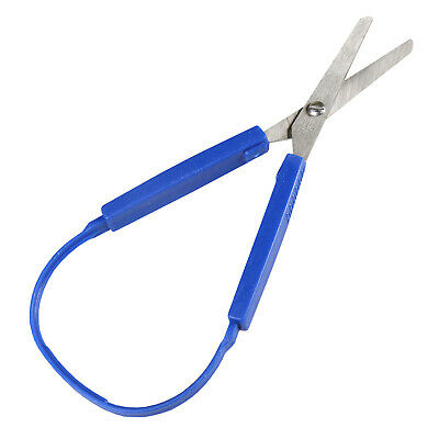 Loop Handle Scissors for Kids & Adults with Limited Mobility Special Needs