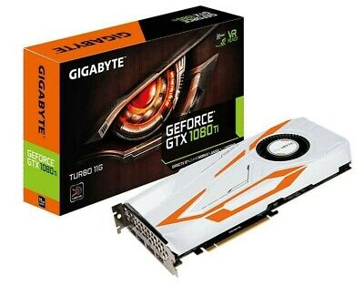 Gigabyte TURBO NVIDIA GeForce GTX 1080 Ti 11G GDDR5X VR Ready Graphics Card