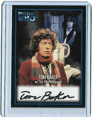 Doctor Who - Series Two Autograph Card AU2 Tom Baker  - The Fourth Doctor