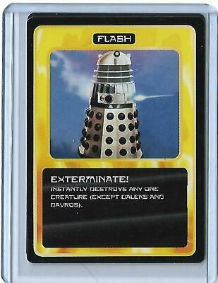 Doctor Who - The Collectable Trading Card Game Ultra Rare Exterminate Promo Card