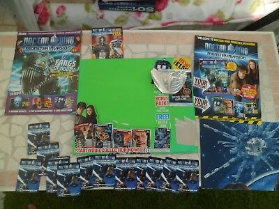 doctor who monster invasion trial issue 1 EXTREMELY RARE cards pre-release
