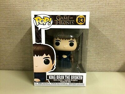 FUNKO POP! Television: Game of Thrones - King Bran the Broken #83 New In Box
