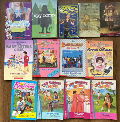 Lot of 13 chapter books Children's Youth Readers Homeschool Middle School