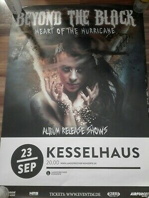 Beyond The Black - Heart Of The Hurricane - Poster (A1) - Berlin