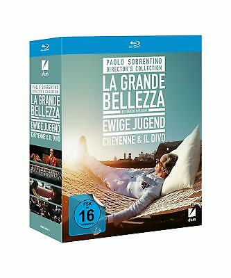 Paolo Sorrentino 4 movies collection Blu Ray box set