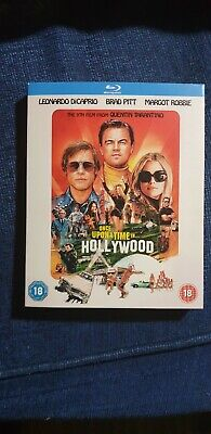 Once upon a time in hollywood Blu Ray Tarantino not dvd Brad Pitt