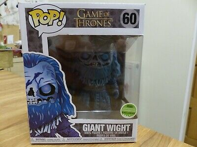 Funko Pop - Game of Thrones - Wight Giant excl (6 inch figure) - genuine pop UK