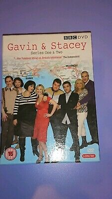 Gavin and Stacey DVD box set series season 1 & 2 special features 3 discs
