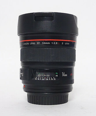 Canon EF 14mm f/2.8 II L USM Ultra Wide Angle Lens in EC