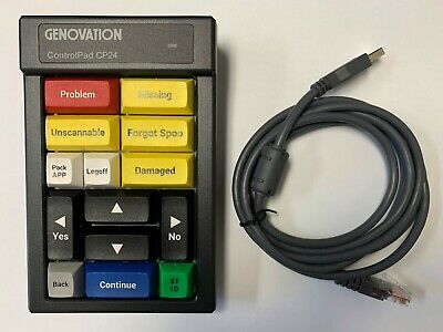 Genovation ControlPad CP24 with Cable ***** OPEN BOX *****