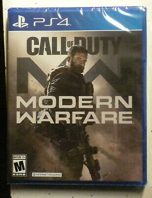 Playstation 4 Call of Duty Modern Warefare PS4 Brand New Sealed