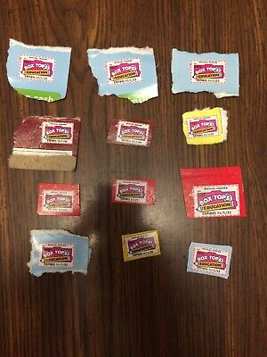 12 BOX TOPS FOR EDUCATION - NONE EXPIRED All In 2020 And Above.