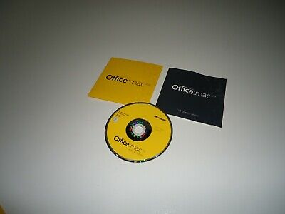Microsoft Office Mac 2011 Home & Student 1-license code English retail Macintosh