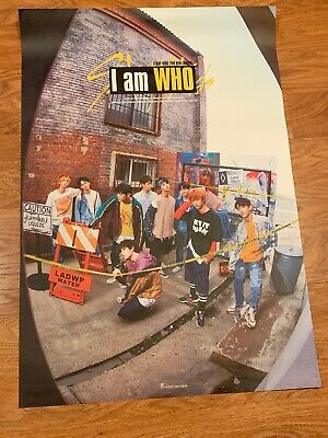 stray kids i am who Poster (unfolded)