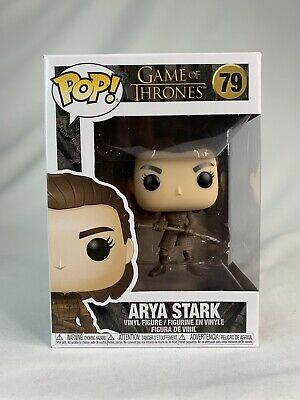 New in original case Funko Pop Game of Thrones Arya Stark 79 Vaulted/Retired