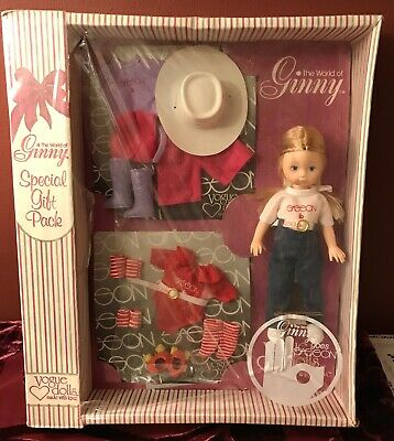 The World of Ginny Special Gift Pack 1980 Vogue Doll-Ginny goes SASSON-MIB