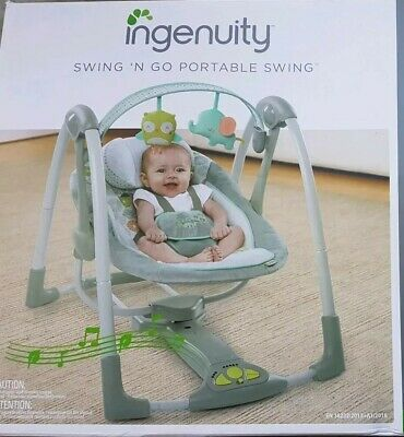 Ingenuity Swing And Go Portable Baby Swing
