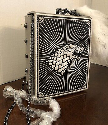 Game of Thrones House Stark x DANIELLE NICOLE Crossbody Bag, NWT sold out item