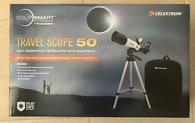 Travel Scope 50 - Portable Telescope with Backpack BRAND NEW IN BOX RRP $299.00