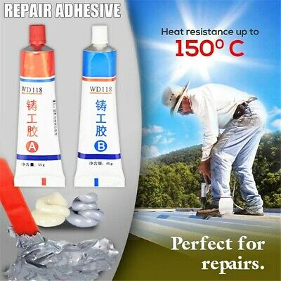 Industrial Heat Resistance Cold Weld Metal Repair Paste - Free Shipping 50% OFF