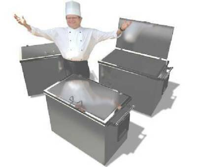 Stainless steel restaurant soak tanks
