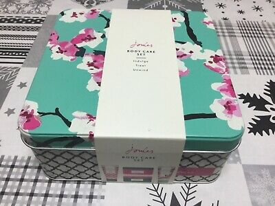 Brand New in Box - JOULES - Body Care Tin gift set