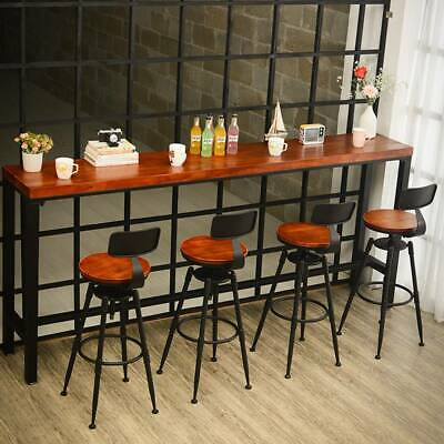 Industrial Retro Breakfast Bar Stools Seat Vintage Kitchen Dining Chair Christma