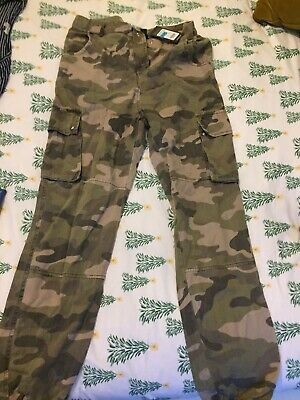 New Look Girls Camoflage Trousers Aged 14 BNWT