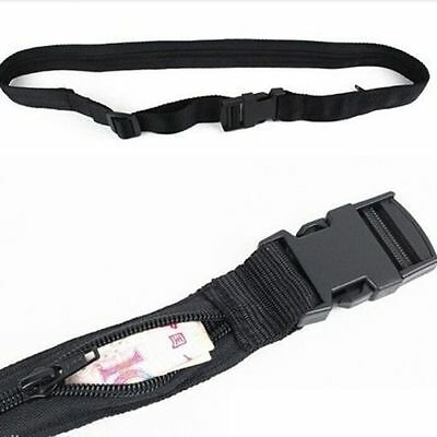 Money Belt Secret Pocket Hidden Security Travel Outdoor Waist Money Belt