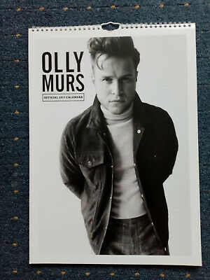 Olly Murs official 2017 Calendar perfect condition Gay interest