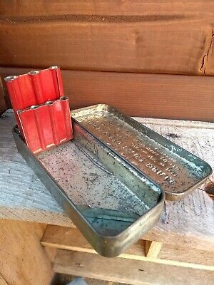intal drill metal storage box vintage