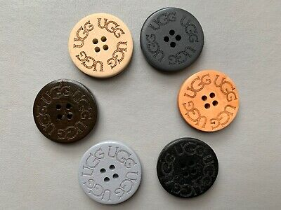 New Wooden UGG Bailey Boot Replacement Buttons