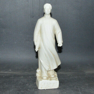 China Collection Cultural Revolution Chairman Mao Porcelain Mao Zedong statue