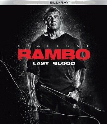 Rambo Last Blood (2019) blu ray Only, NO CASE/DVD/DIGITAL⬇️Read⬇️PREORDER