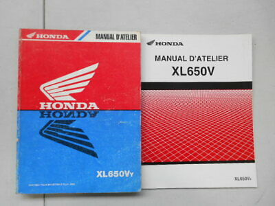 Manuel D'atelier +  Supplement Honda Xl650Vy Xl 650 V4