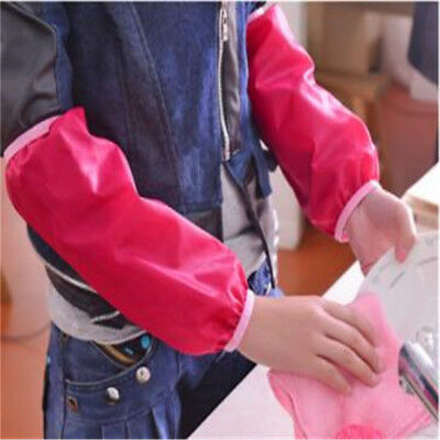 Kitchen Antifouling Waterproof Cleaning Sleeve Oversleeve Clean Arm Protector ON