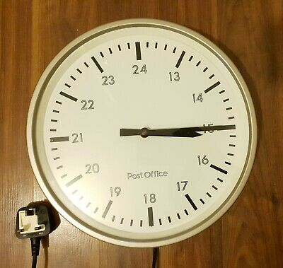Midcentury Post Office GPO Clock Not Slave Vintage