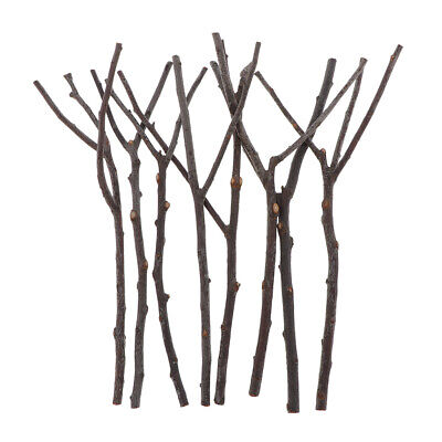 8Pcs Stems Natural Twigs Dried Tree Branches for Wedding Party Home Hotel Decors