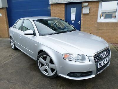 Audi A4 2.0Tdi (170Ps) S-Line Special Edition ,Met Light Silver,Full Leather