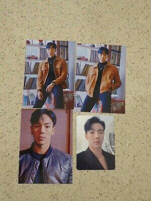 Official Monsta X Follow: Find You Kihno Photocard & Postcard Set of Shownu